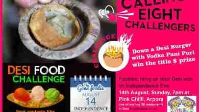 Photo of Goan Foodie Desi Food Challenge