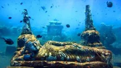 Photo of Goa's Atlantis? A century old submerged Hindu temple resurfaces in Goa