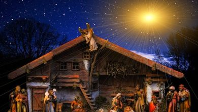 Photo of A Very Merry Christmas with the birth of Jesus Christ