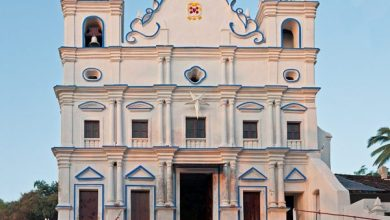 Photo of The beautiful Reis Magos Church in Verem