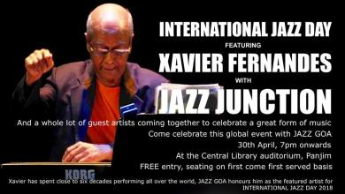 Photo of International Jazz Day 2018 celebrated in Goa with Colin D'Cruz