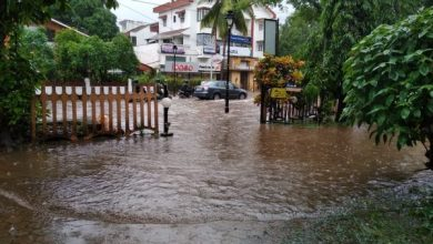 Photo of The city of Panjim and surrounding areas disappear underwater