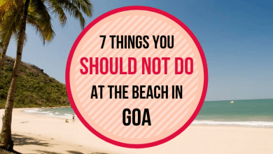 Photo of 7 things you SHOULD NOT DO at the beach in Goa