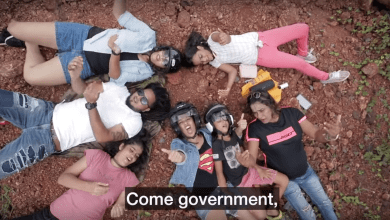 Photo of WATCH: Cecille Rodrigues parodies Lorna in a song about potholes in Goa