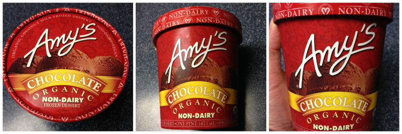 Vegan Chocolate Ice Cream Review - New Amy's Kitchen Product! (1/3)