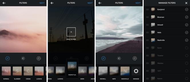 Instagram me filtrues të rinjë për foto2