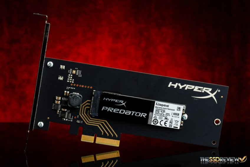 HyperX Predator PCIe SDD, disku me shpjetësi të çmendur nga Kingston