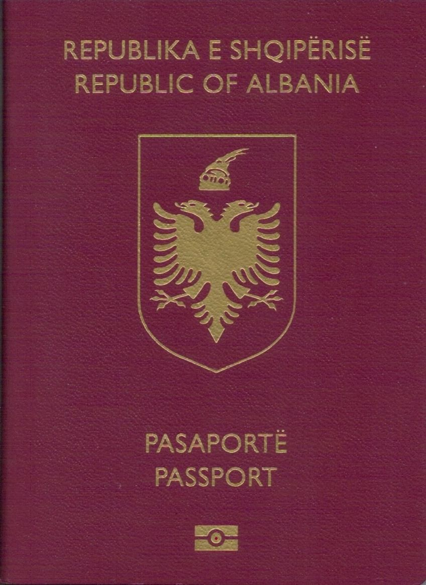 pasaporta biometrike shqiptare