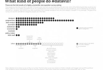 What Kind of People do Data Visualization?