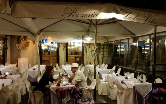 A Rome-antic Anniversary Dinner