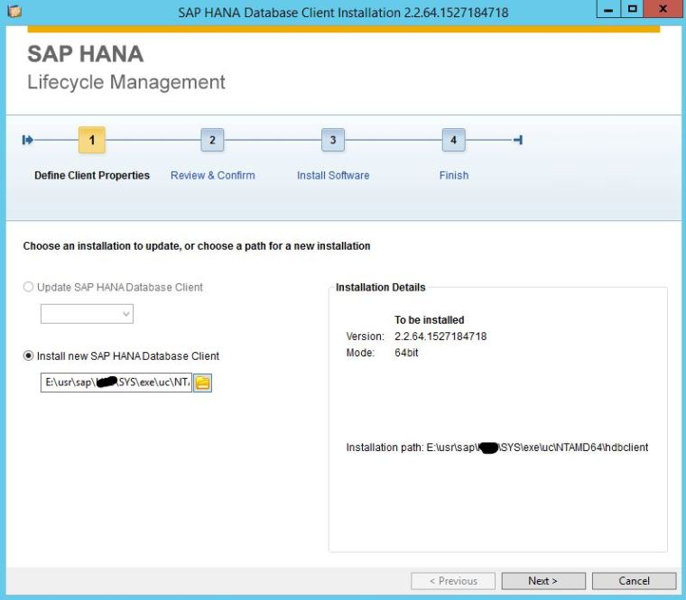 Steps to Update SAP HANA Database Revision