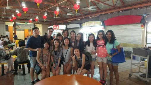 Our group that went to Chinatown!