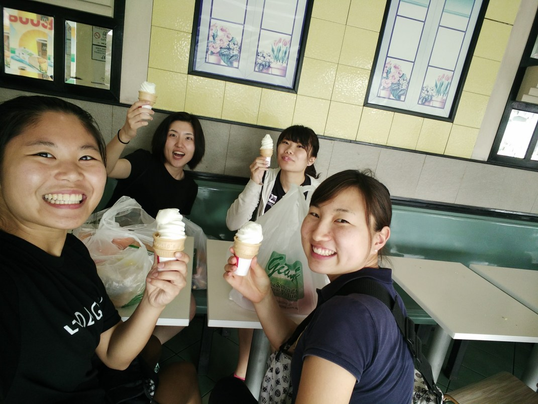 daily McDonald's ice cream cone