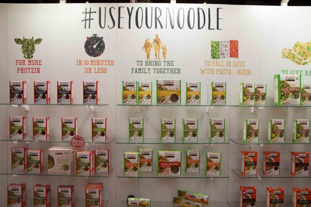 Explore Cuisine Protein Gluten-free Pasta. Top Trends at Natural Products Expo West 2018 via It's Jou Life blog - https://wp.me/p7RBMP-1b2