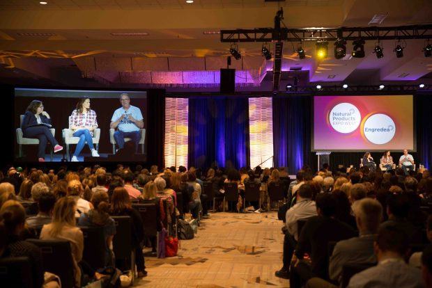 Once Upon a Farm Keynote Speakers - Jennifer Gardner and John Foraker. Top Trends at Natural Products Expo West 2018 via It's Jou Life blog - https://wp.me/p7RBMP-1b2