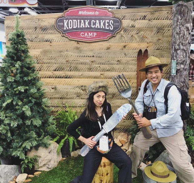 Kodiak Cakes Protein Waffles. Top Trends at Natural Products Expo West 2018 via It's Jou Life blog - https://wp.me/p7RBMP-1b2