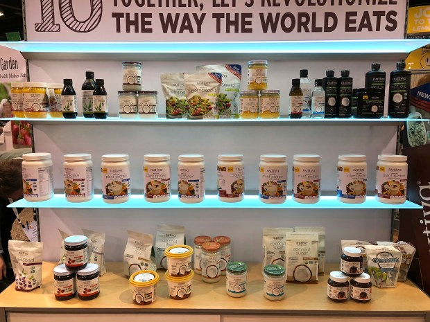 Nutiva Coconut products. Top Trends at Natural Products Expo West 2018 via It's Jou Life blog - https://wp.me/p7RBMP-1b2