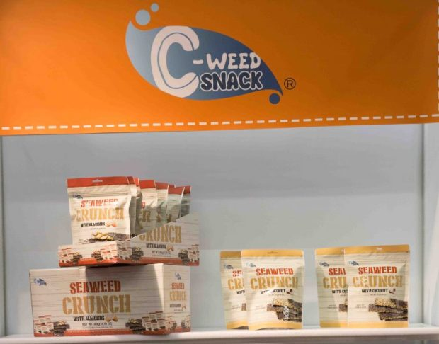 C-Weed Snacks. Top Trends at Natural Products Expo West 2018 via It's Jou Life blog - https://wp.me/p7RBMP-1b2