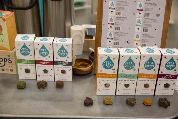 Tea Drops Organic Tea. Top Trends at Natural Products Expo West 2018 via It's Jou Life blog - https://wp.me/p7RBMP-1b2