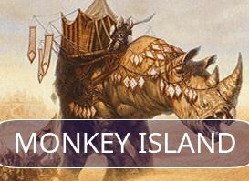 Monkey Island vs Abzan Midrange #1 (R1 Daily Event)