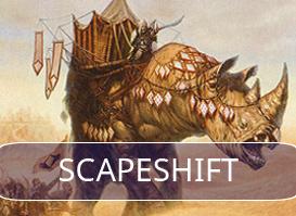Scapeshift vs Abzan Midrange #1
