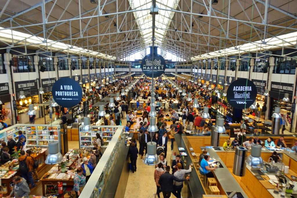 Ribiera Market / Time Out Market, Lisbon