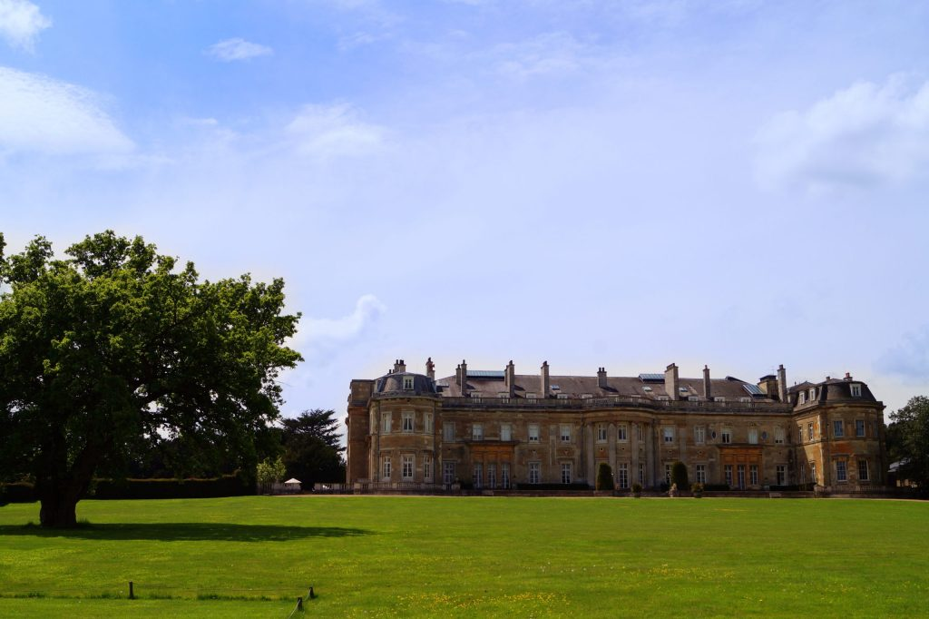 Luton Hoo and the croquet gardens
