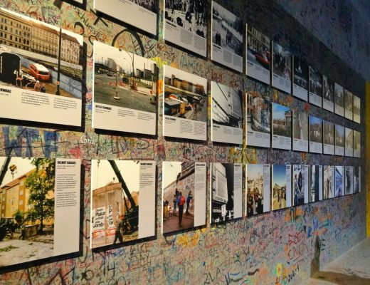 Photos of the Berlin Wall at Asisi Panorama, Berlin