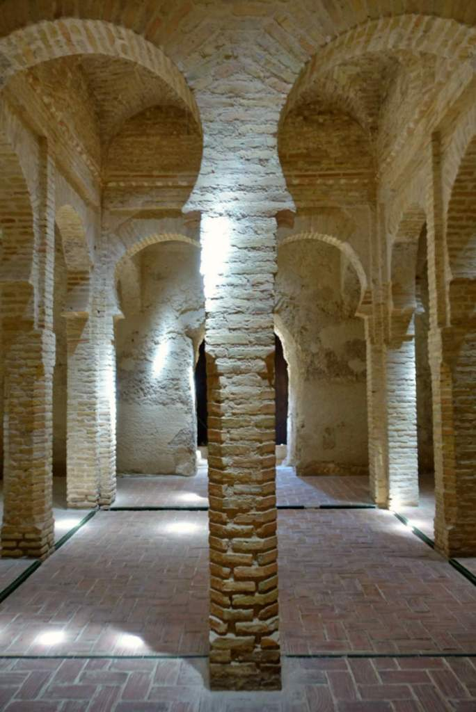 Interior of the baths