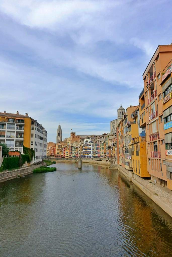 River views of Girona