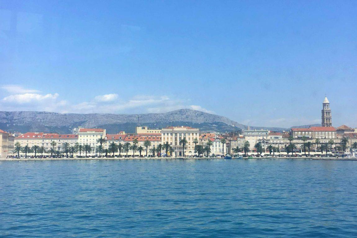 Split harbour from water