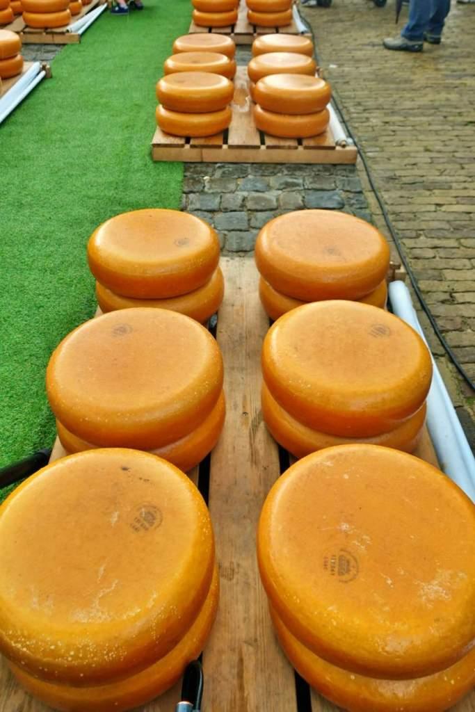 Cheese wheels, Gouda