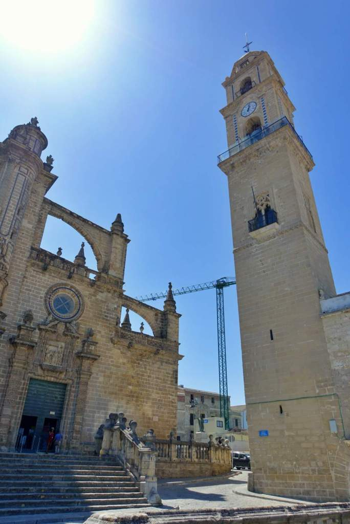 Jerez cathedral and tower