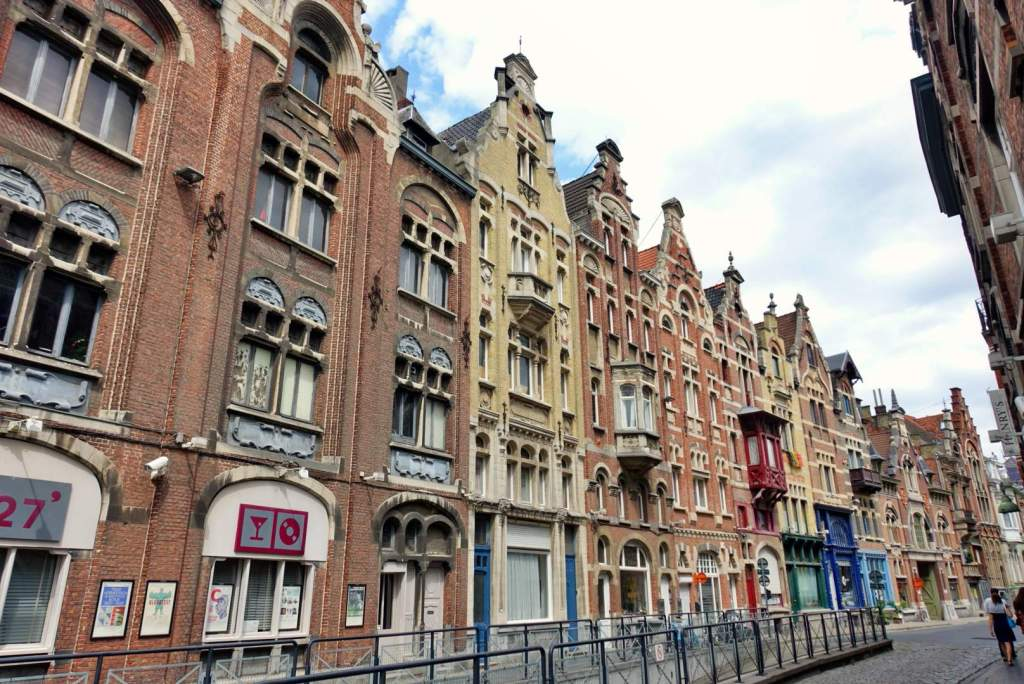 Pretty buildings in Ghent
