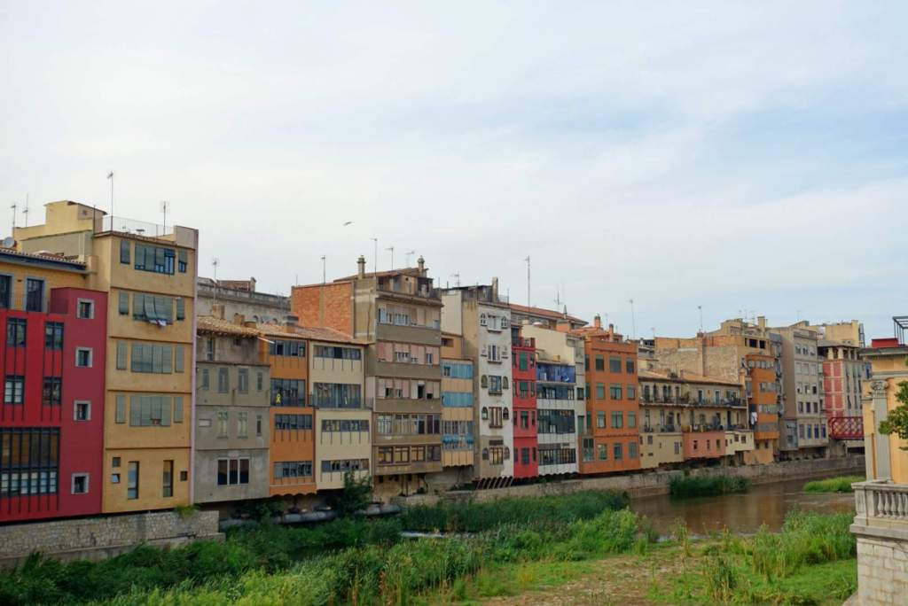 Colourful buildings on River Onyar