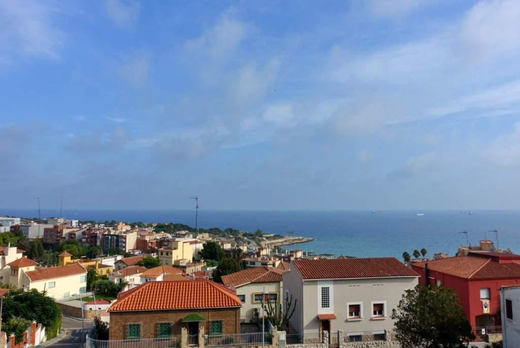 Sea and city view, Tarragona