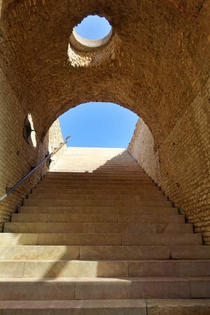 Stairs in Amfiteatre de Tarragona