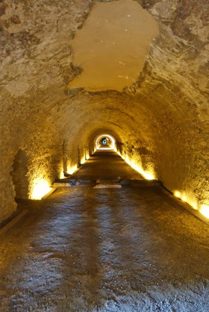 Tunnels to Roman Circus, Tarragona