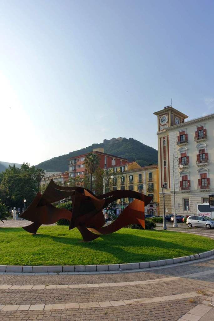 Art on Lungomare Trieste, Salerno waterfront