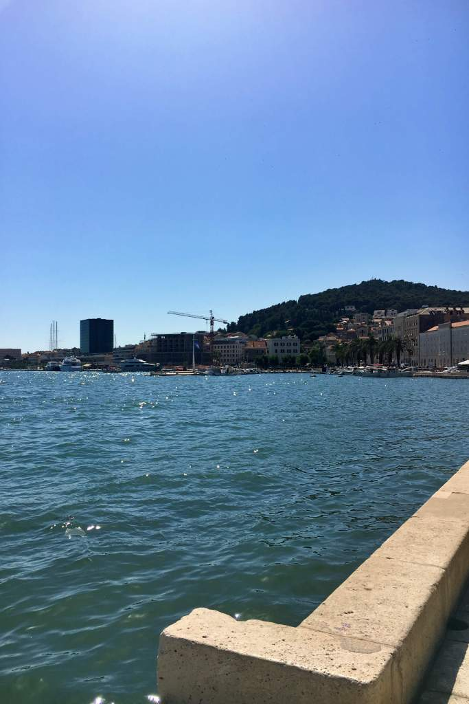 View from Split's Riva