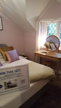 21st Century Cottage - Bedroom 1 with view of ErcolTeramo dressing table by Feather & Black
