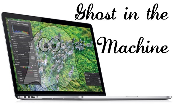 Ghosting MacBook Pro with Retina Screen