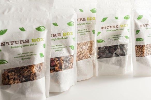 NatureBox Healthy Snacks Shipment