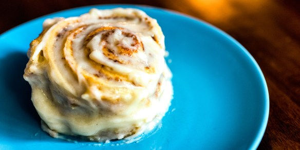 Gooey and Delicious Homemade Cinnamon Roll