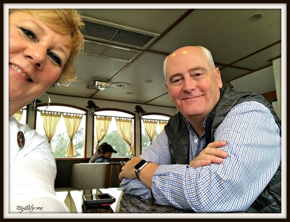 On the ferry to Daufuskie Island