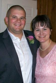 2009 - Together celebrating family events - Sister's wedding