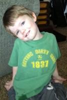 Neil in his fav green shirt
