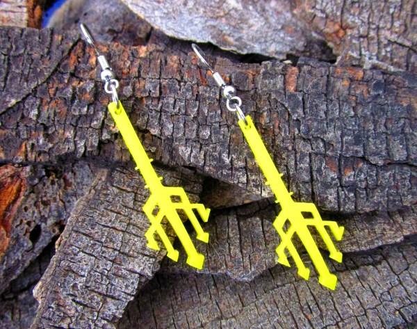 trident earrings aquaman jewelry