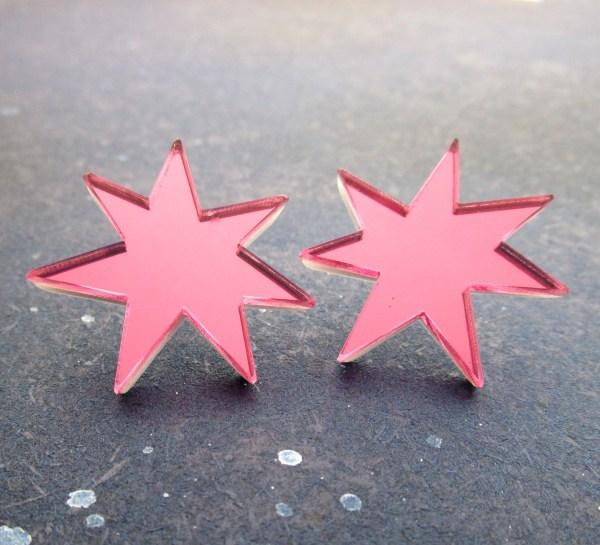 jem cosplay star earrings