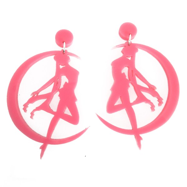 sailor moon transformation stud dangle earrings pick color